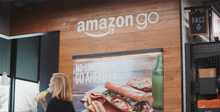 Amazon may open 3,000 cashierless stores by 2021 - as survey reveals it's now third in online ads