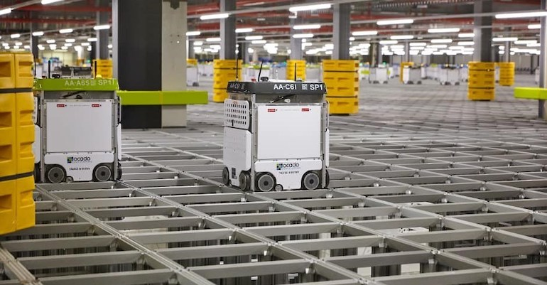 Autostore Sues Ocado Over Online Grocery Fulfillment Technology Supermarket News