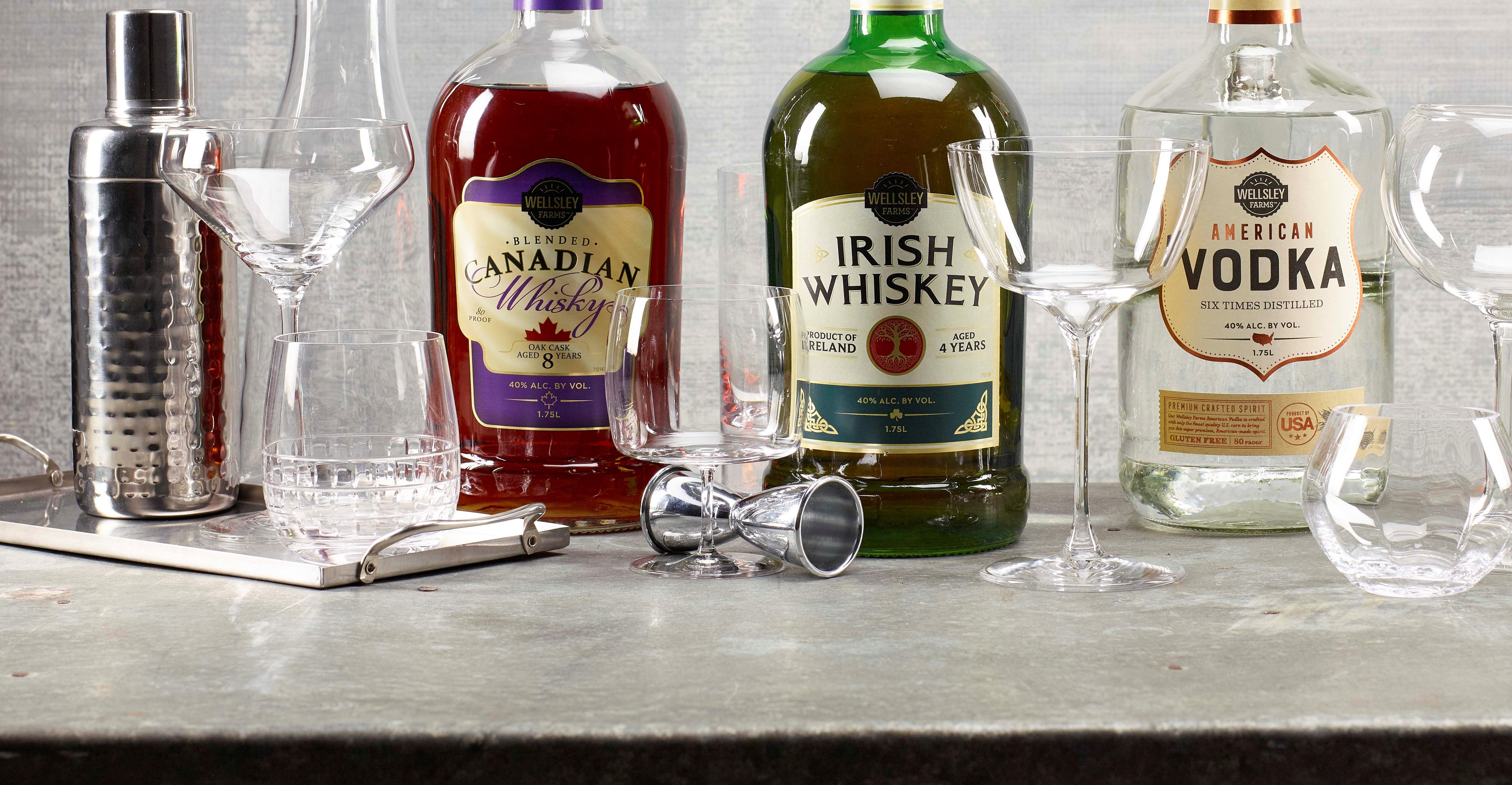 Bj S Wholesale Club Serves Up Premium Private Label Liquor Supermarket News