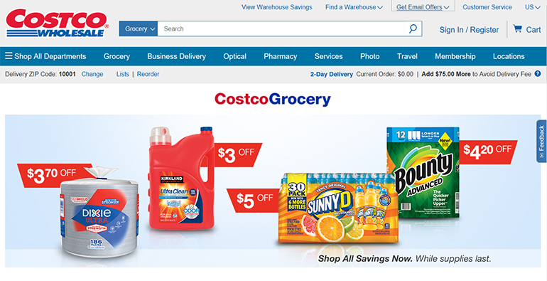 Costco makes strides with grocery, omnichannel initiatives