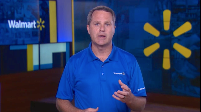 Doug McMillon-Walmart-racial equity video