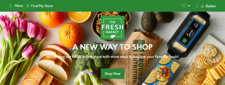 Fresh Market new online store-homepage.PNG