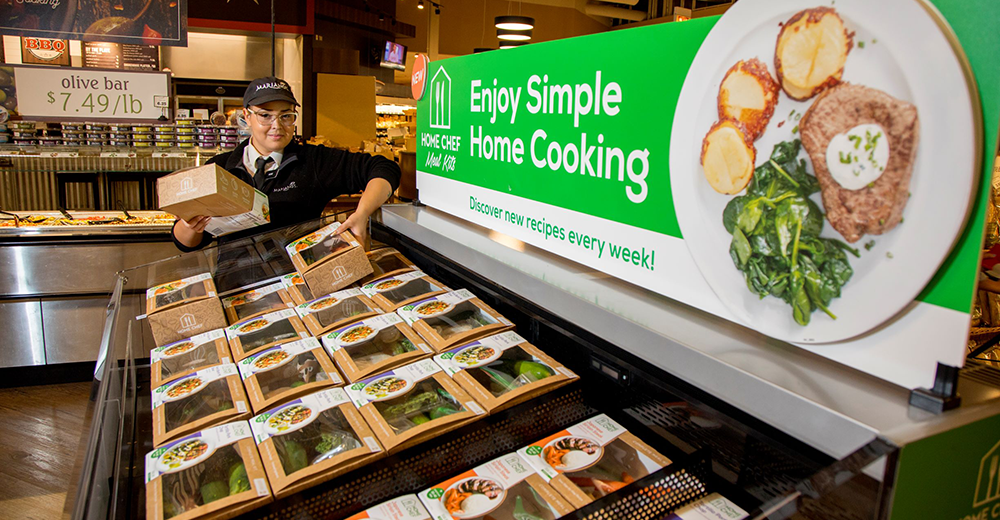 Kroger begins rollout of Home Chef meal kits to stores