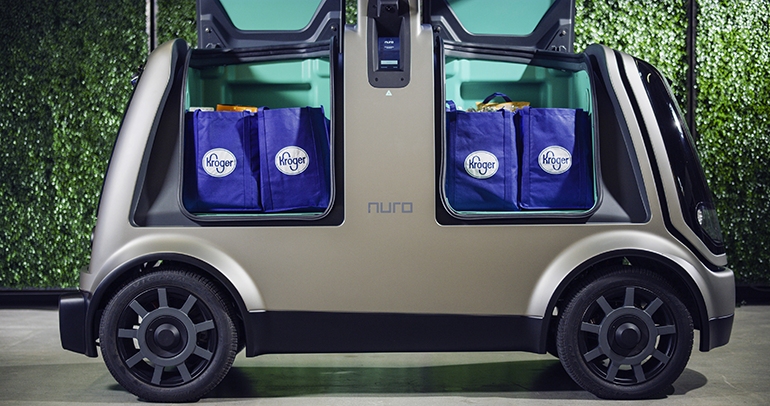 Kroger expands driverless delivery to Houston | Supermarket News