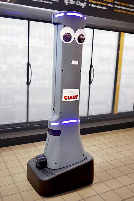 Giantmartins Stop Shop Begin Robot Rollout Supermarket News
