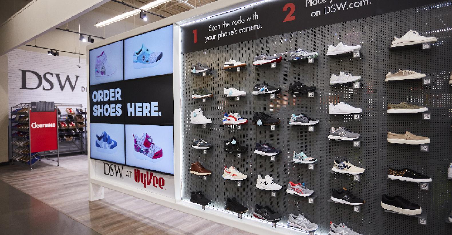 Hy Vee Opening Dsw Footwear In