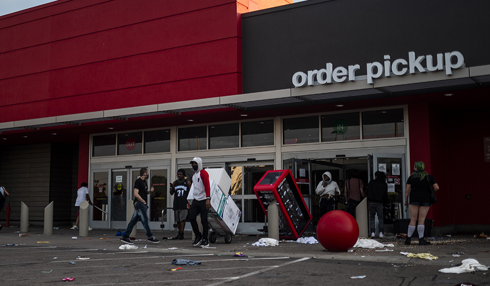 Target temporarily closes 6 stores in violence-torn Minneapolis ...