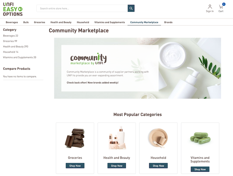 UNFI Community Marketplace-Easy Options-website.png