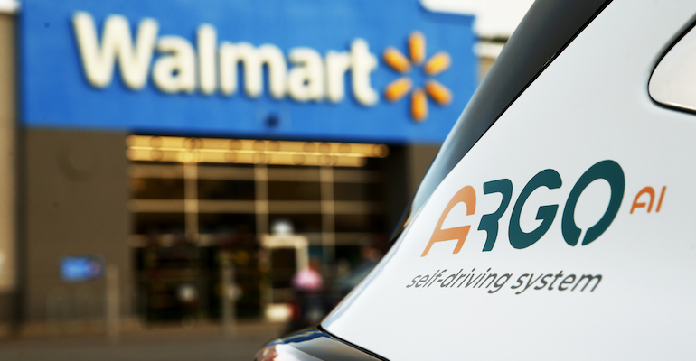 Walmart, Ford plan multi-city pilot of self-driving delivery vehicles