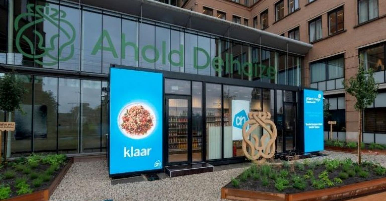 Ahold Delhaize Pilots Amazon Go Style Portable Store Supermarket