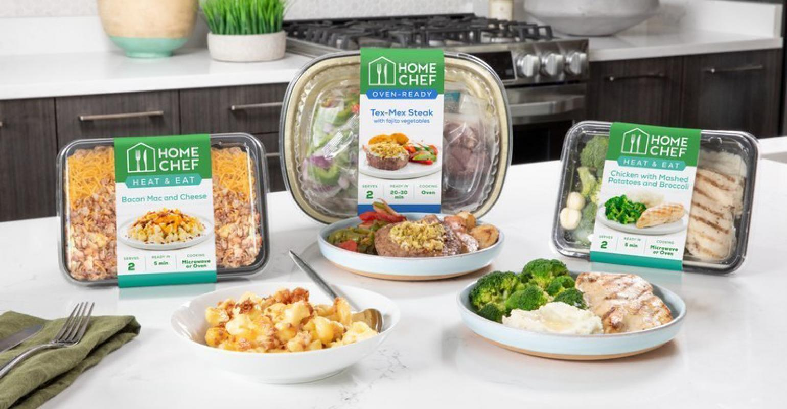 Kroger Co  stores test new Home Chef meal kits | Supermarket