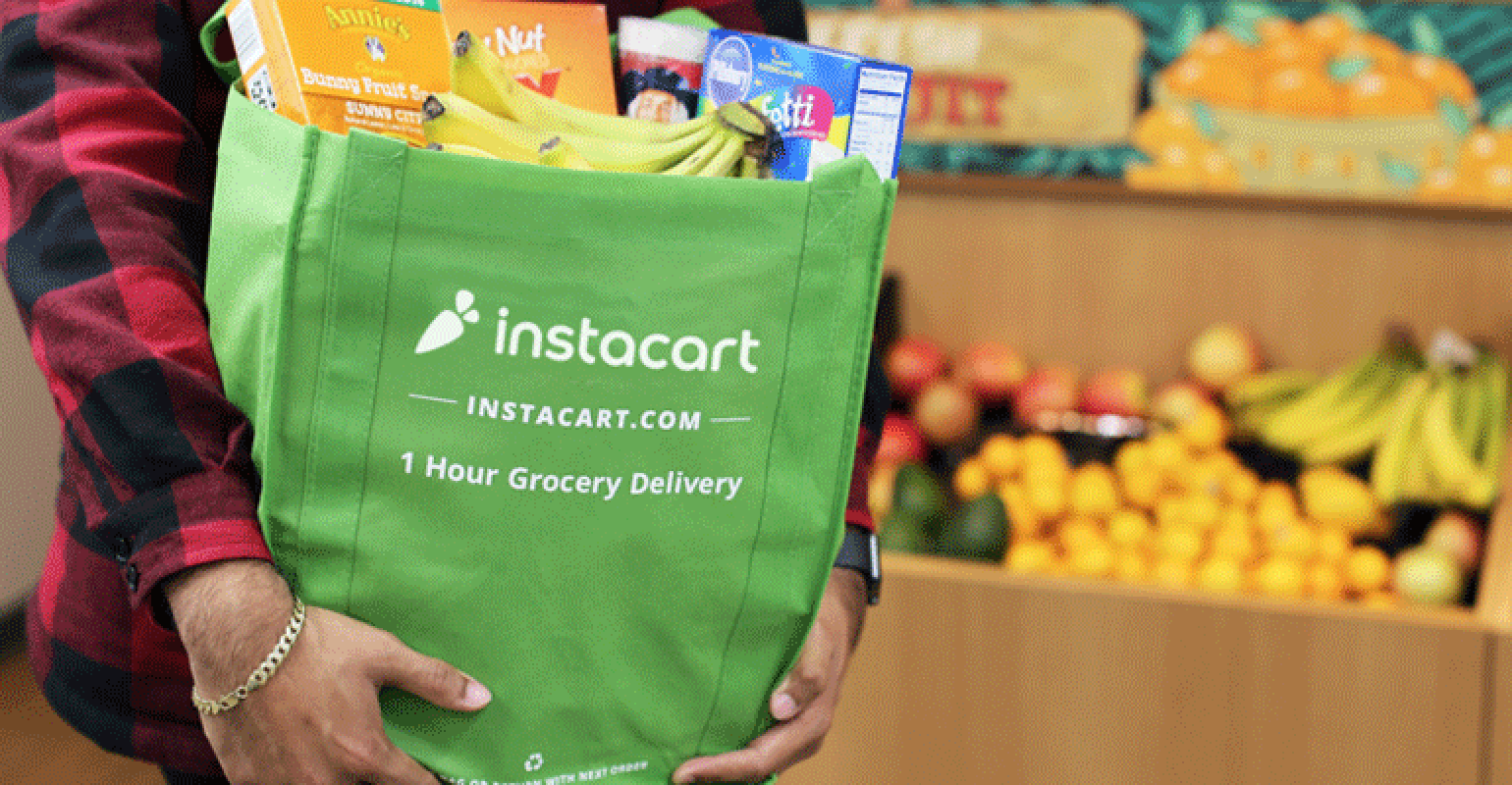 Instacart personal shoppers get quicker access to earnings