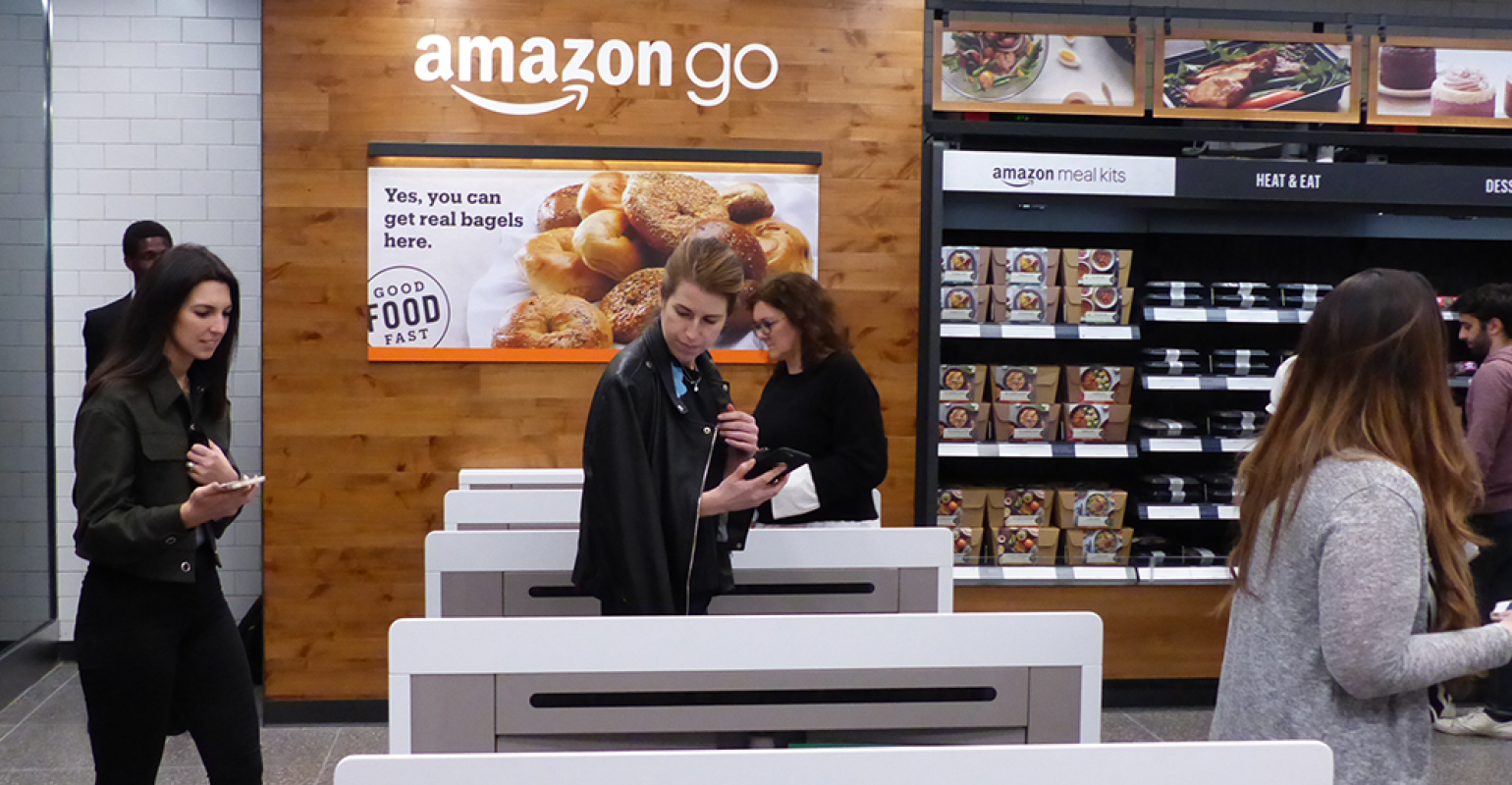 Taking A Look Inside Amazon Go S First Nyc Store Supermarket News