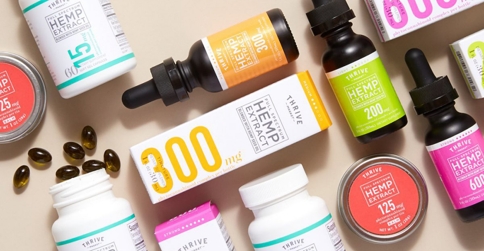 Thrive Market to pull CBD products | Supermarket News