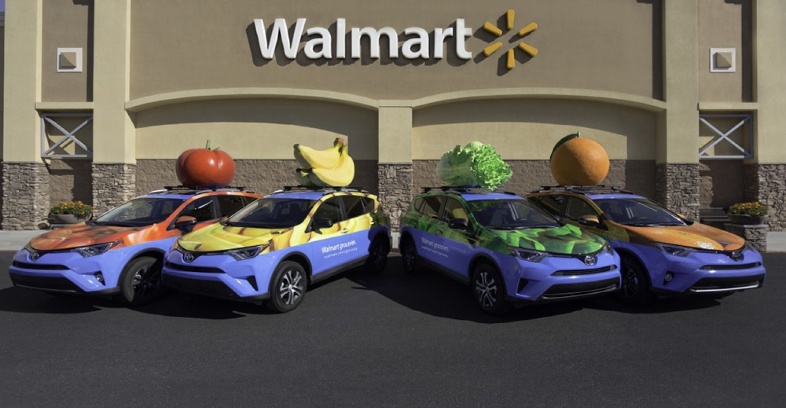 In online grocery, Amazon and Walmart at 'genius' level
