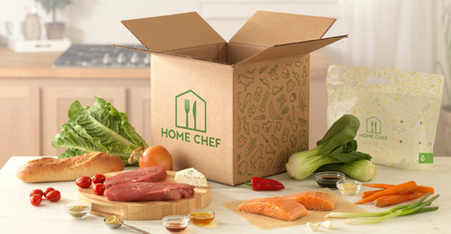 Home Chef food and snacks subscription box
