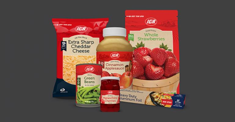 IGA private label
