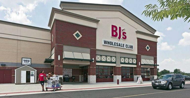 BJs warehouse club-storefront