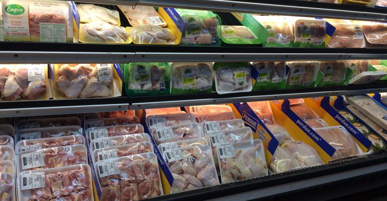Chicken display-Vitelio's Market.JPG