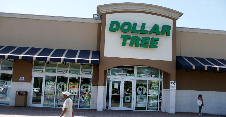 Dollar Tree Sales Change
