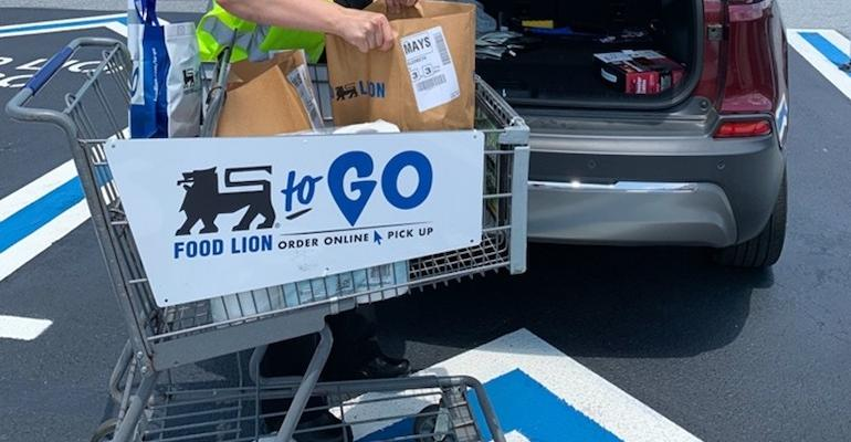 Food Lion To Go-curbside service