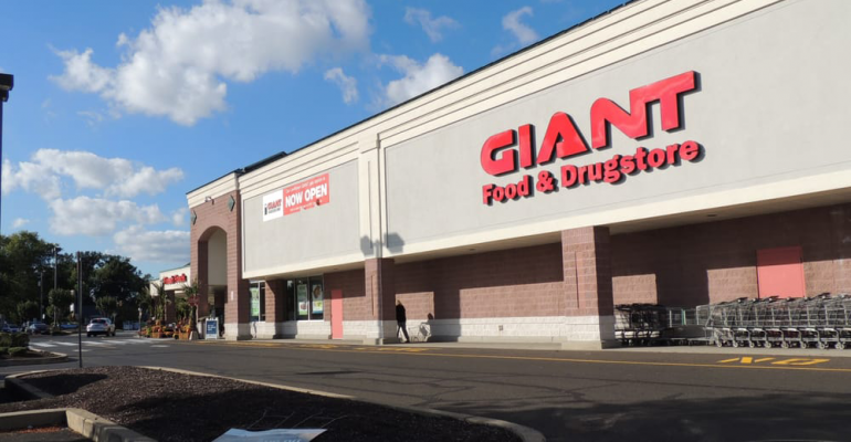 Giant Food Stores To Buy Five Shop N Saves Supermarket News