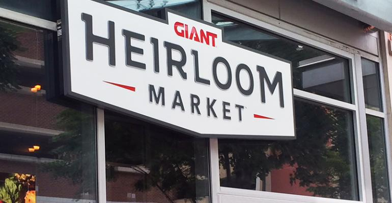 Giant's Second Heirloom Market Opens With Philly Fanfare