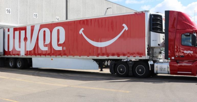 Hy-Vee truck-distribution center