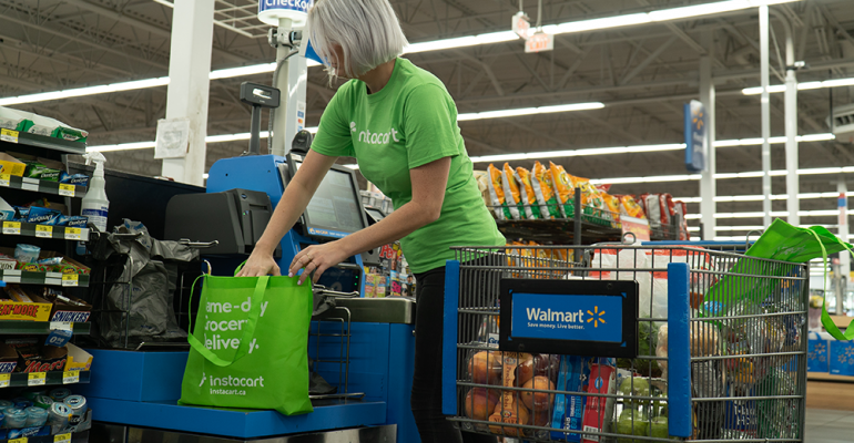 Walmart Canada Teams Up With Instacart Supermarket News