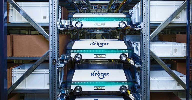 Kroger Great Lakes DC-Knapp robot shuttles.jpg