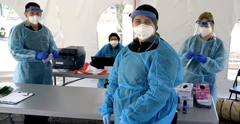 Kroger Health coronavirus testers
