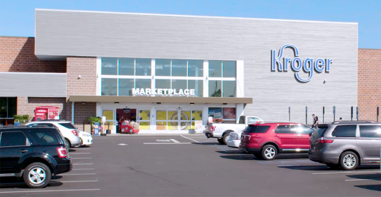 Kroger Marketplace store exterior