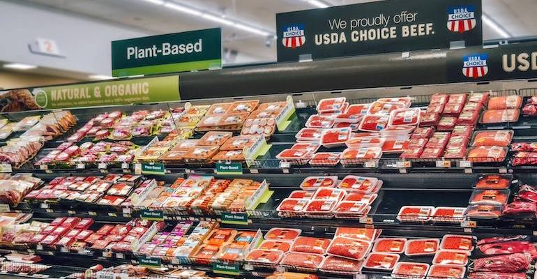 Kroger PBFA plantbased meat set-pilot