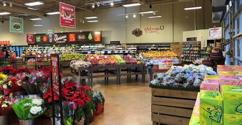 lucky s market plans burst of expansion supermarket news
