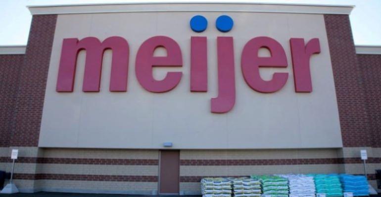 Meijer store banner