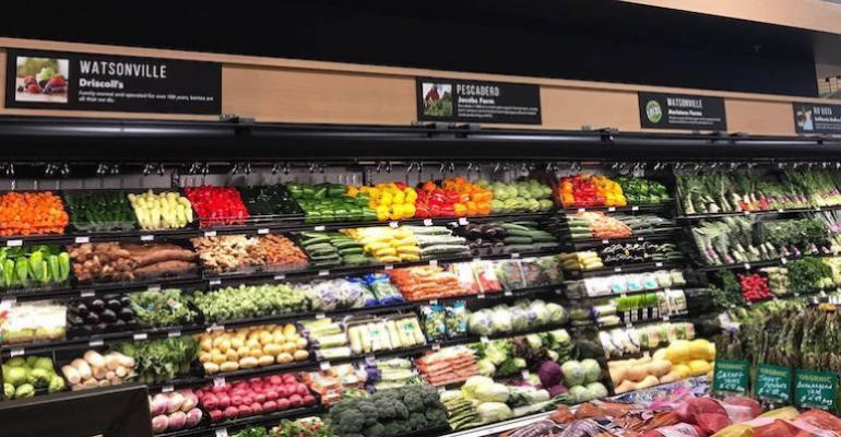 Raleys produce display