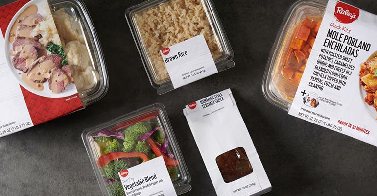 Raley's launches its own line of meal kits