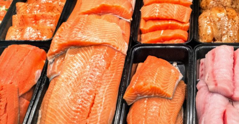 Salmon in case at Fresh Thyme Market.jpg