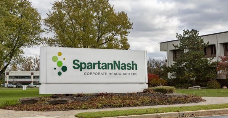 SpartanNash headquarters sign