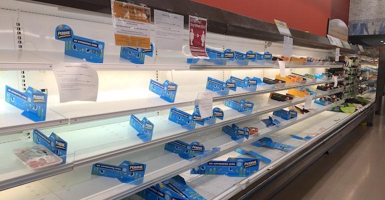 Supermarket COVID impact-empty meat display-ShopRite.jpg