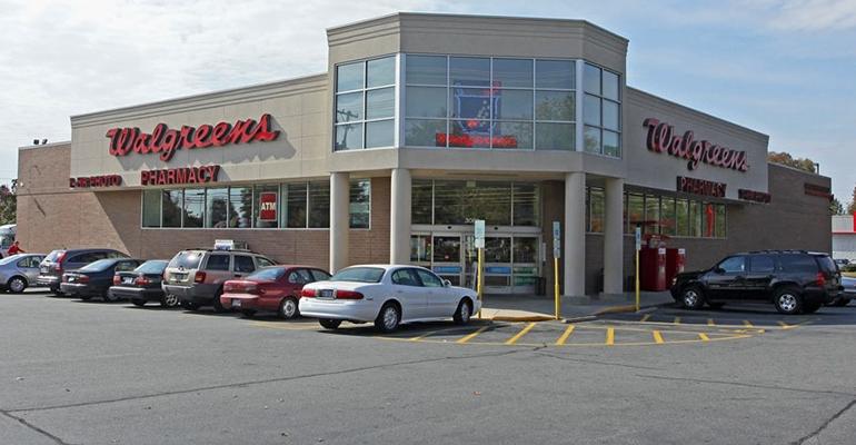 Walgreens store exterior