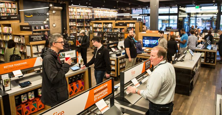 Amazon opened its first brickandmortar bookstore last November in Seattle