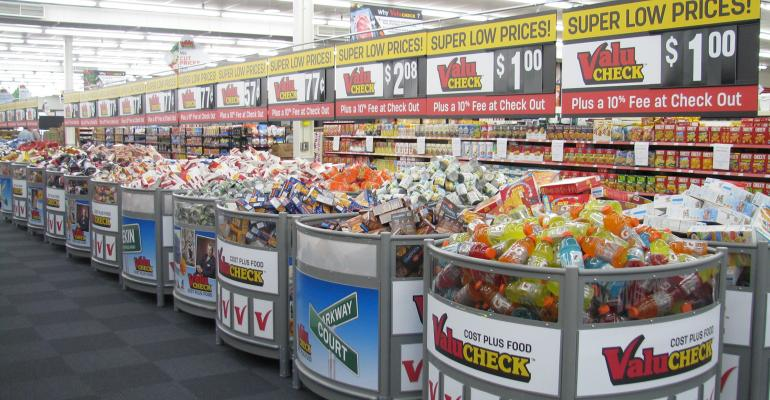 example of conventional supermarket
