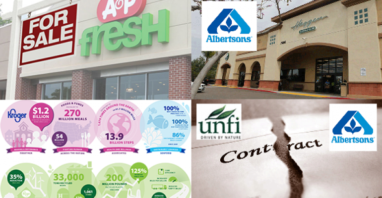 Gallery: A&P declares bankruptcy, Albertsons sues Haggen and more trending stories