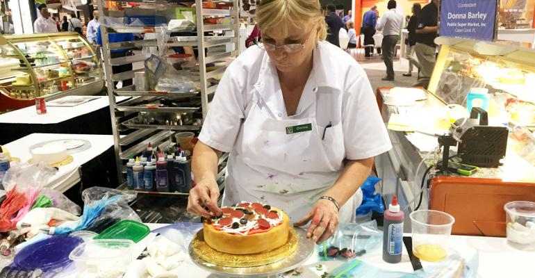 Gallery: 30-year veteran wins 2015 IDDBA cake competition