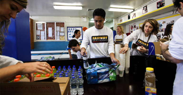 Gallery: Fairway Market's Thanksgiving Feast for Sandy Victims