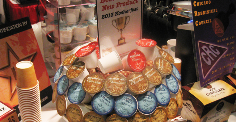 Gallery: Parve K-Cups Named Best New Product at Kosherfest