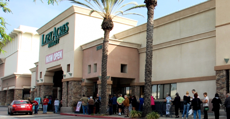 Bristol Farms has opened its second Lazy Acres location in Long Beach Calif The natural and organic specialty store features an expansive perishables offering and a variety of prepared foods