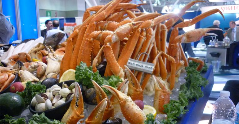 Photo Gallery: On the Floor at the Seafood Show