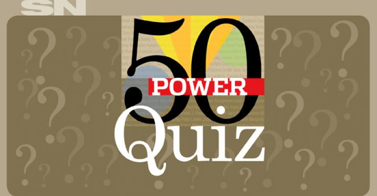 Quiz: Test your knowledge of the Power 50